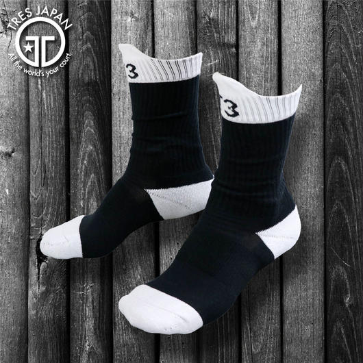 NEW!!【TRESJAPAN】BASKET SOCKS T3 BLACK