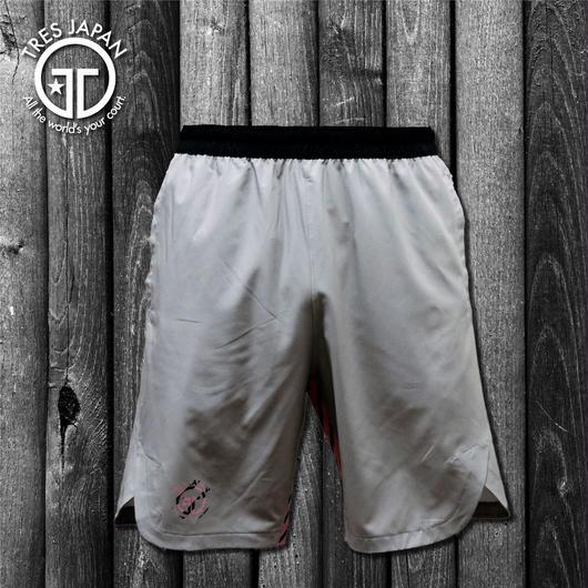 【TMC】WOVEN SHORTS STRIPE(Gray/Pink)
