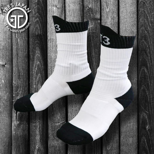 NEW!!【TRESJAPAN】BASKET SOCKS T3 WHITE