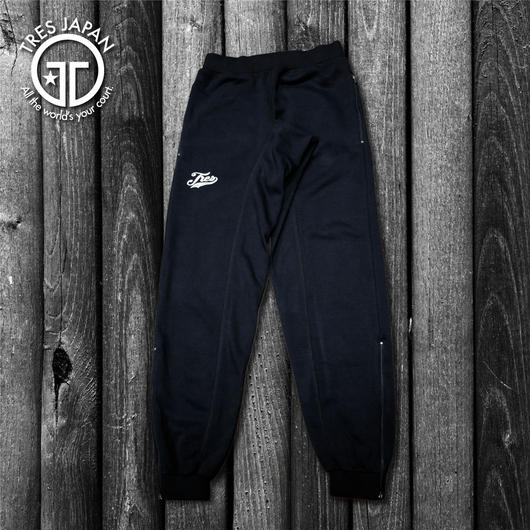 【TMC】ZIPPER SWEAT PANTS(Black)