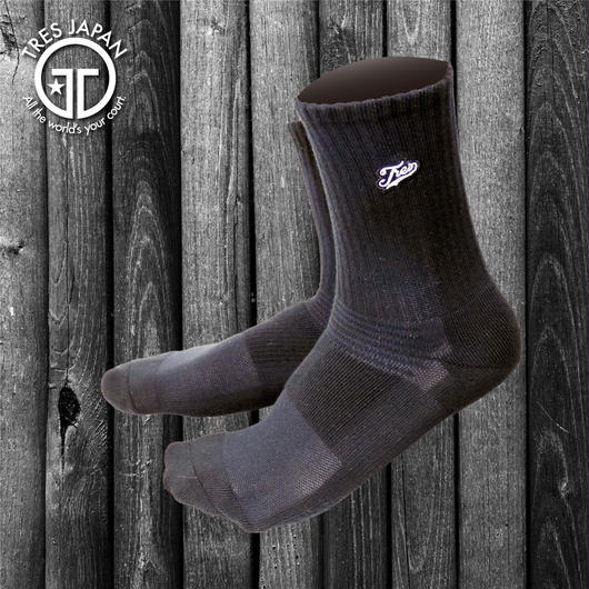 【TMC】BASKET SOCKS  Surf Logo(Black/White)