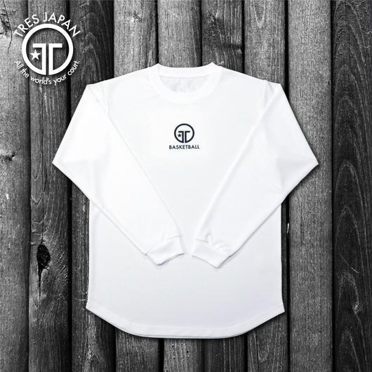 【TRESJAPAN】HeiQ ポイントロングTシャツ(ホワイト)