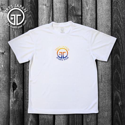 【TRESJAPAN】イージードライHeiQ Tシャツ(ホワイト)サンライズ