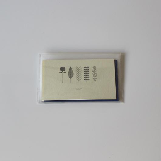 メッセージカード- blue-