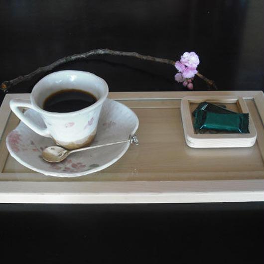 津軽のヒバの長皿