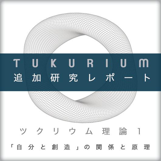 【追加レポート】ツクリウム理論1〜自分と創造の関係と原理〜追加28Pレポート