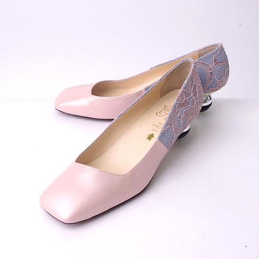 ちゃけちょけ toy heel パンプス ピンク
