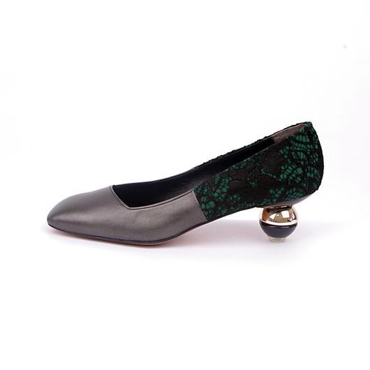 toy heel パンプス ブラック
