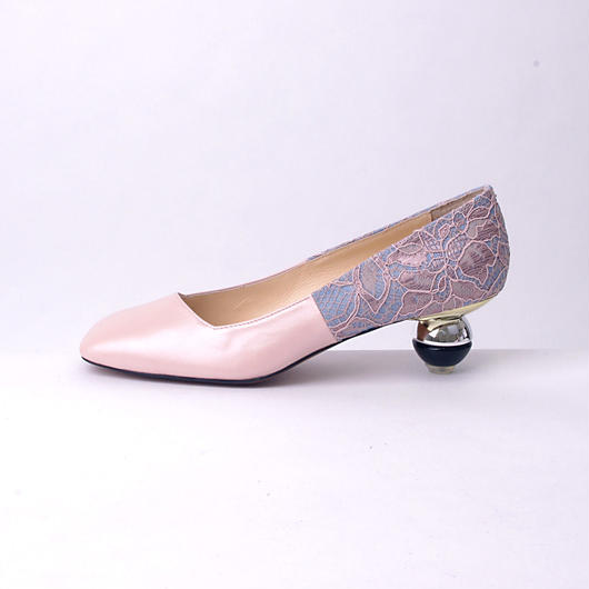toy heel パンプス ピンク