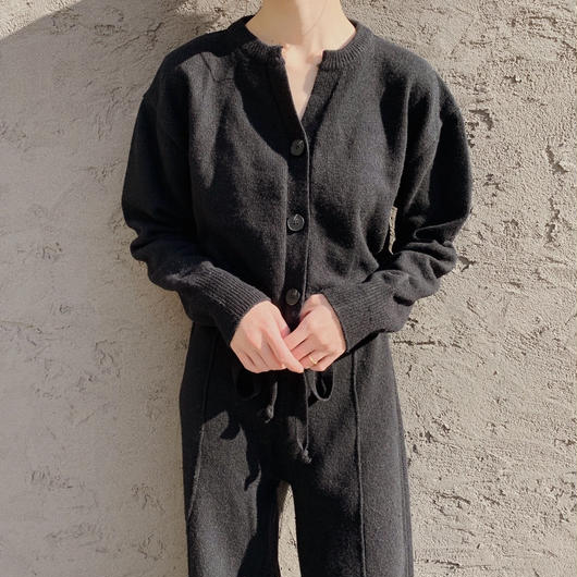 knit allinone (black)