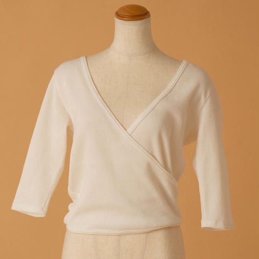 cachecoeur thermal tops(WHITE)