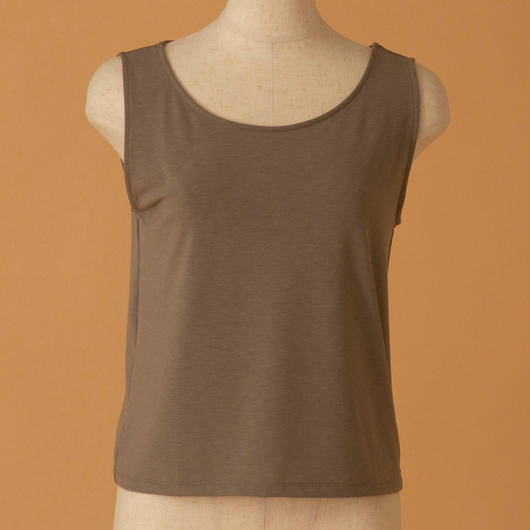 basic tank top(KHAKI)