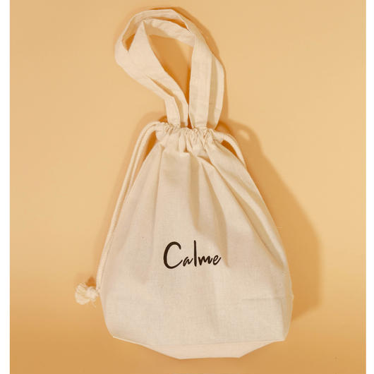 calme original logo purse