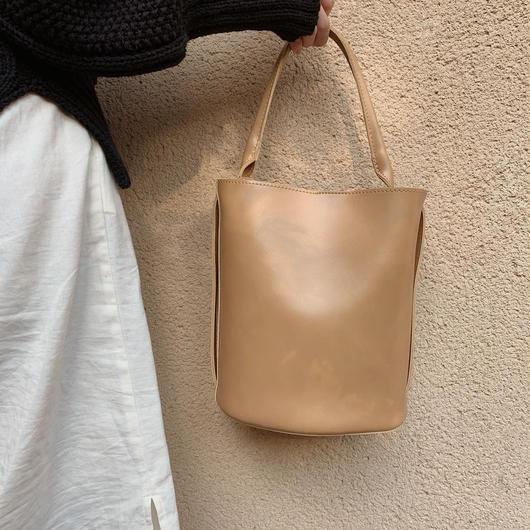 bucket  bag(beige)
