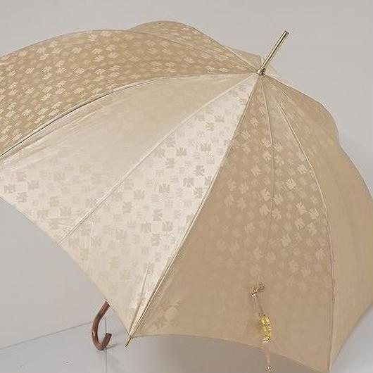A0420 NINA RICCI ニナリッチ 耐風傘 USED美品 バードシルエット 60cm 中古 ブランド