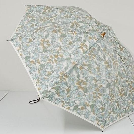 FS2164 eight ㈱エイト 高級折傘 USED超美品 ほぐし織 花柄 日本製 47㎝ 折りたたみ傘 中古ブランド