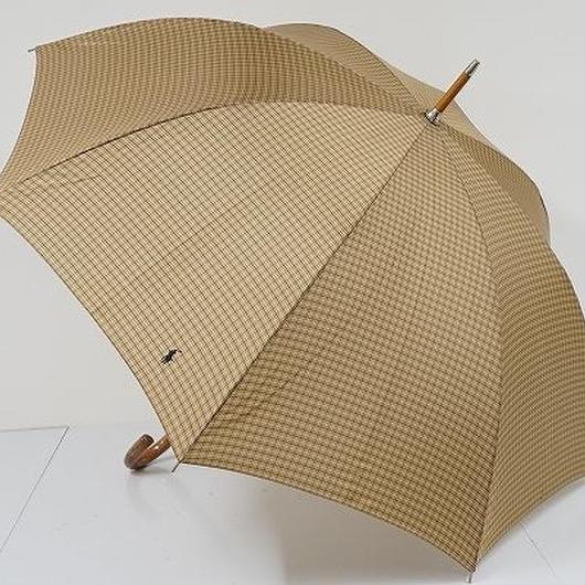 S9571 Ralph Lauren ラルフローレン 紳士傘 USED極美品 格子 65cm 中古 ブランド