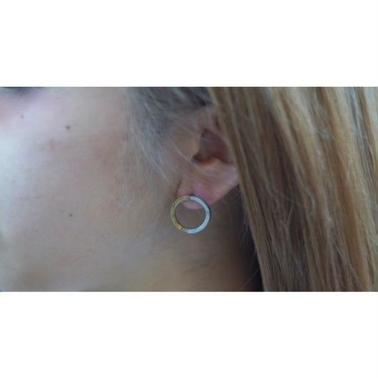 月と太陽 pierce片耳