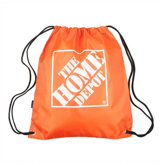 Orange Home Depot Cinch-Pack