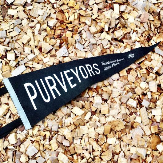 Oxford Pennant   × Purveyors オリジナル