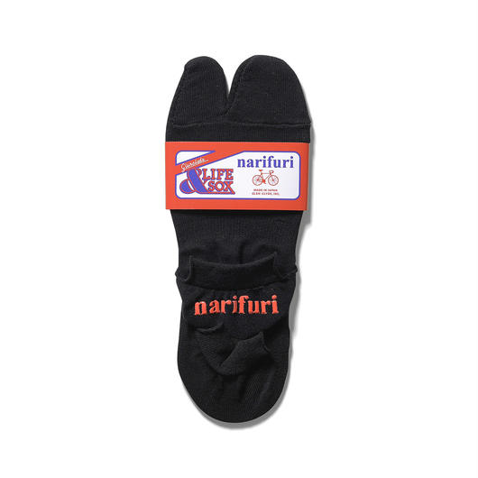 narifuri×&LIFE SOX piggy socks