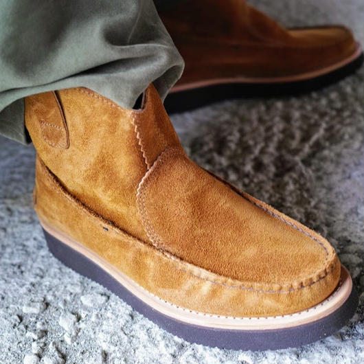 Yuketen  All handsewn short pull-on boots