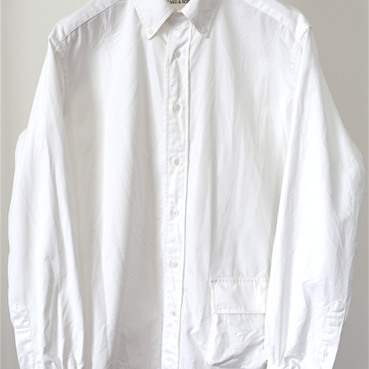 TAKE&SONS HD OX Shirt, White