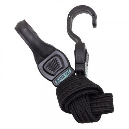 HIGHLAND super fat strap bungee (black)
