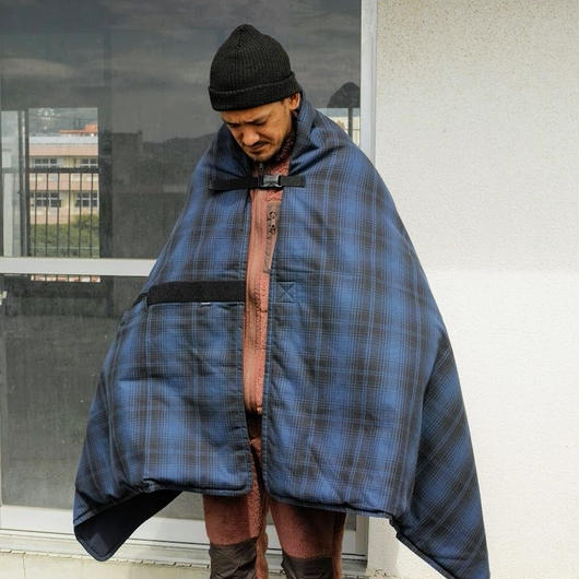 "meanswhile,Flannel Check ""Traveling Rug"""