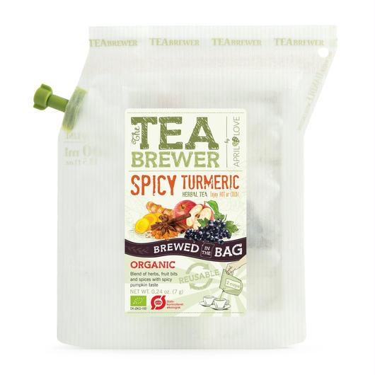 TEA BREWER   【Spicy Turmeric Herbal Tea】