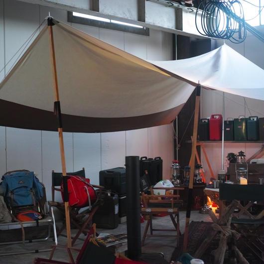 OUTSIDE IN Tabi Nobi Tentpole L