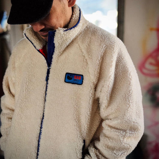 RAB,ORIGINAL PILE JACKET ''JAPAN LIMITEDモデル''