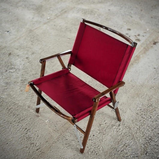 Kermit Chair WALNUT -BURGUNDY-