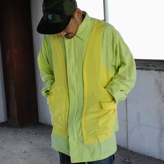 AlexanderLeeChang, LAYERD JACKET,Yellow(SIZE2)