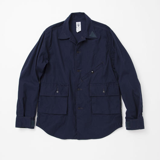 CORONA Hunter Hiker Shirt, Cotton Duck, Navy
