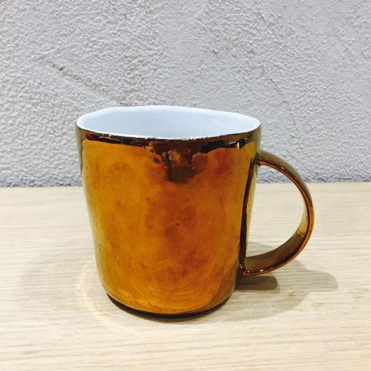 中囿義光 マグカップ、ブロンズ(S)