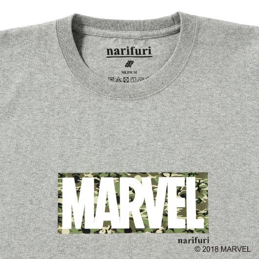narifuri(MARVEL BOX)ヘビーコットンTシャツ
