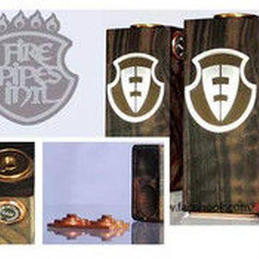 Fire Pipes Box Mod