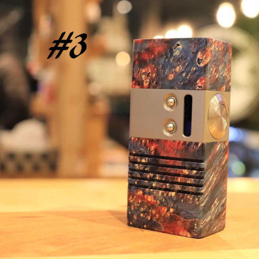 Mellody Box mod BTTOモデル DNA60 18650 size №#3  ※3か月メーカー保証付き
