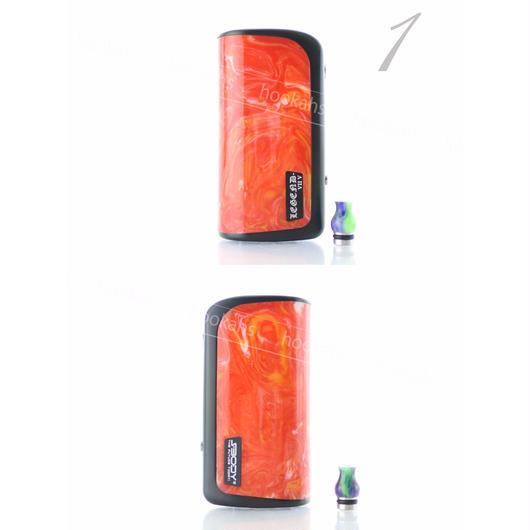 SBODY Legend DNA75 26650バッテリー レッド