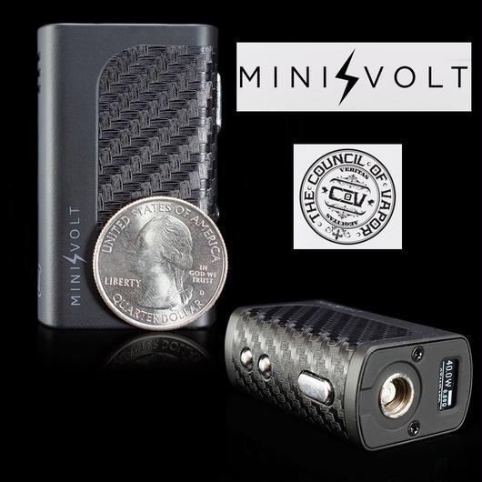 THE COUNCIL OF VAPOR MINI VOLT BOX MOD  40W