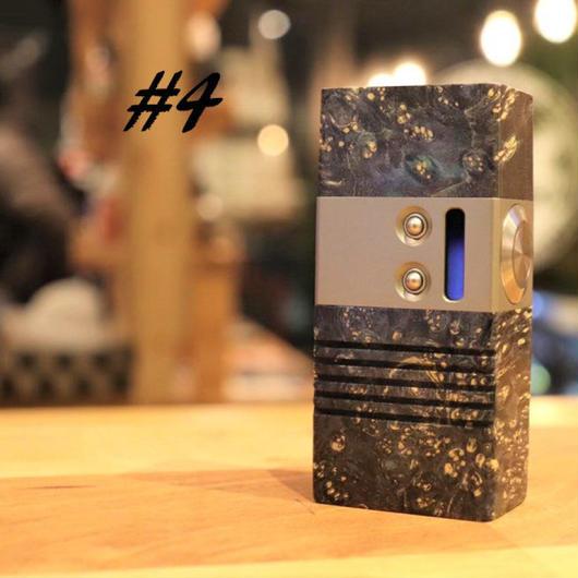 Mellody Box mod BTTOモデル DNA60 18650 size №#4  ※3か月メーカー保証付き