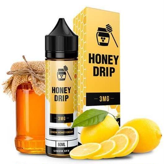 【フルーツ系】HONEY DRIP BY LIQUID EFX VAPE - LEMON HONEY - 60ML