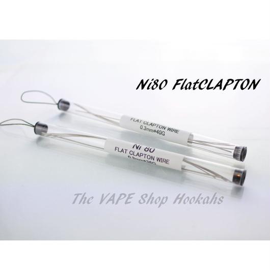 【Flat Clapton Wire】Ni80 Flat Clapton Wire 2種