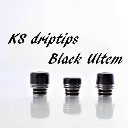KS drip tip ブラックウルテム 510径 ドリップチップ