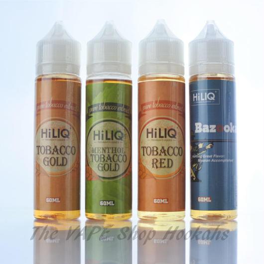 【タバコ】HILIQ ショップ限定リキッド 60ml 全4種類
