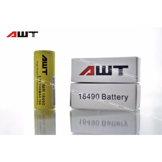 AWT 18490 16A IMR 1100mAh 3.7v Li-Mn Rechargeable Battery
