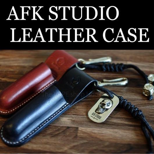 AFK STUDIO チューブMOD用 本革レザーケース ベルトフック付(プレーン)