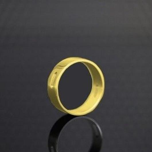 The Golden Greek  Tilemahos  AD Ring  Brass