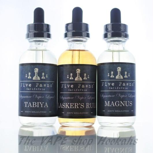 FIVE PAWNS BLUE SERIES 60ml 全3種類